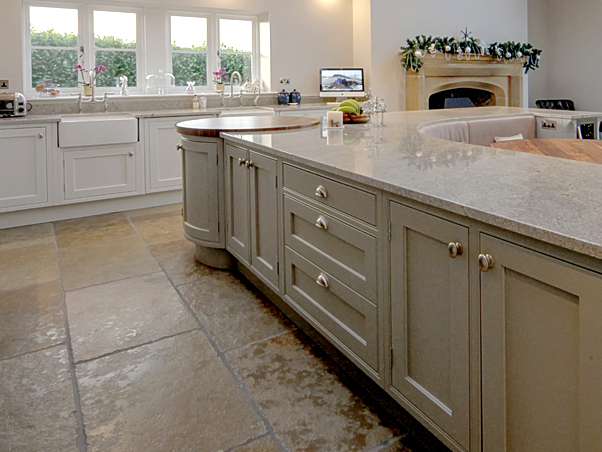 Classical Limestone Flooring - Semi Honed