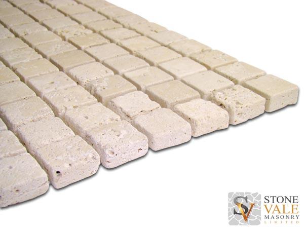 Premium Light Travertine Mosaic Tiles