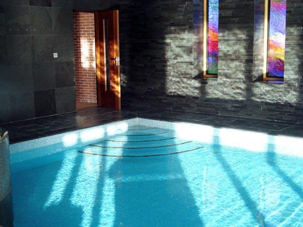 Brazilian Slate Swimming Pool Project
