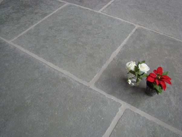 Classical Grey Limestone Semi Honed Limestone Tiles Limestone