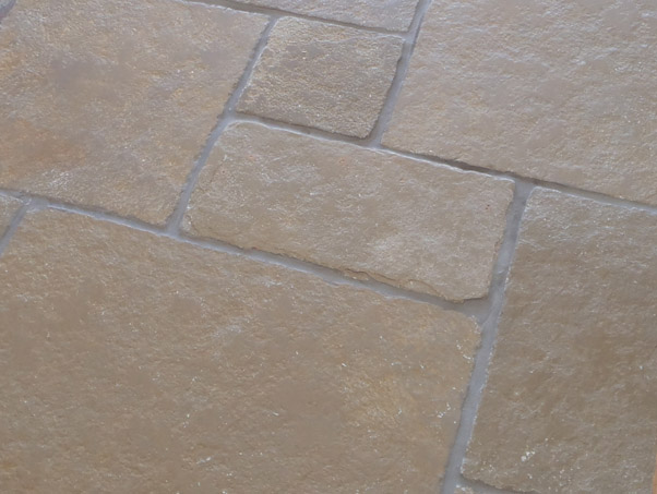 Classical Limestone Brushed Opus Pattern Limestone Tiles