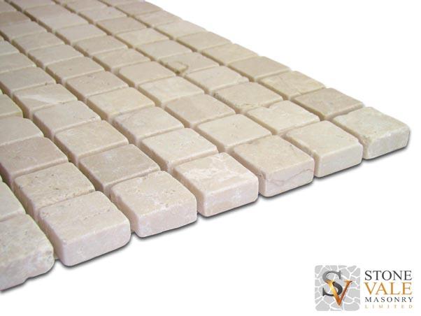Crema Persia Marble Mosaic Tiles