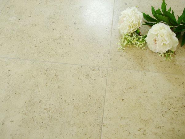 Gascogne Beige Limestone Tiles - Honed
