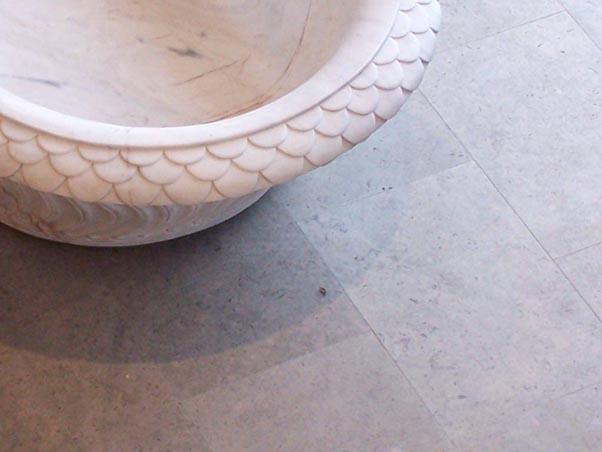 Gascogne Blue Limestone Tiles - Honed