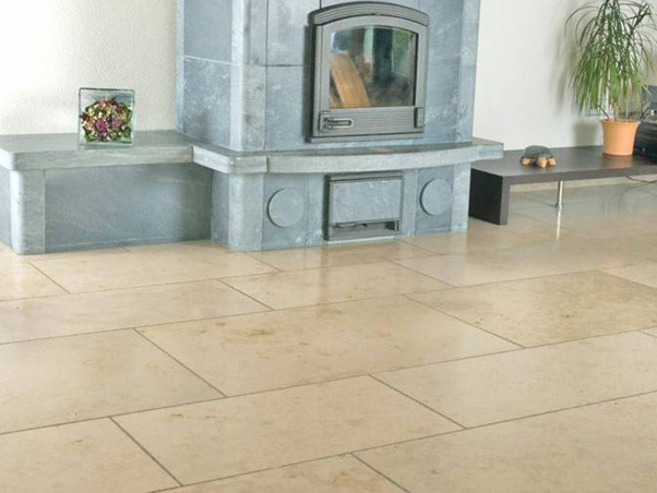 Jura Beige Limestone Tiles - Honed