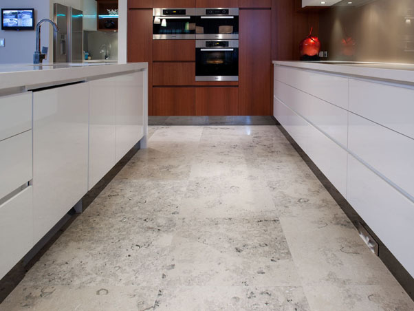Jura Blue Grey Limestone Tiles - Honed