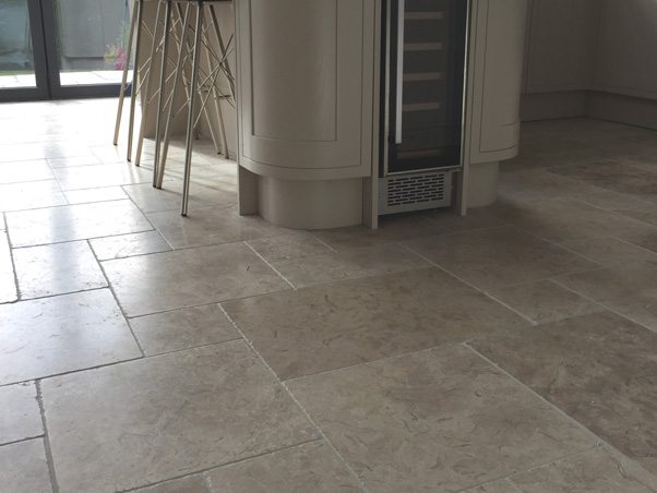 Mediterranean Grey Limestone Tumbled Opus Limestone Tiles