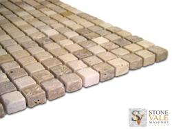 Mixed Travertine Mosaic Tiles
