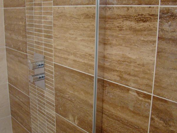 Noce Vein Cut Travertine Tiles Filled Amp Polished