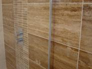 Noce Vein Cut Travertine Tiles - Filled & Polished