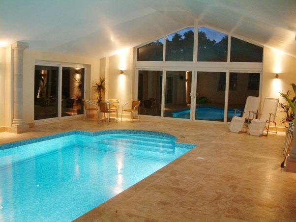 Premium Classic Travertine Swimming Pool