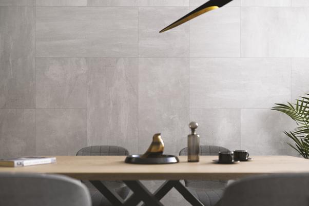 Space Grey Matt Finish Porcelain Tiles - 898x898mm