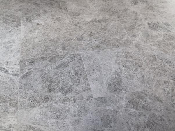 Silver Pearl Limestone - Honed Tiles