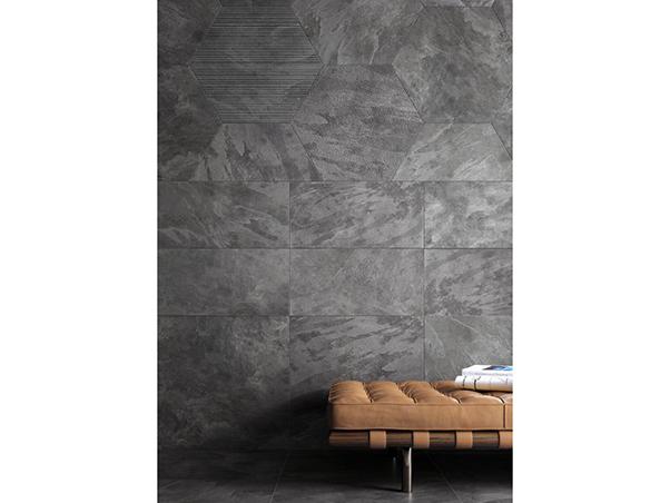 Tech Slate Porcelain Tiles - Anthracite